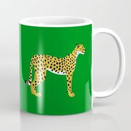 Cheetah Jungle Lush Coffee Mug