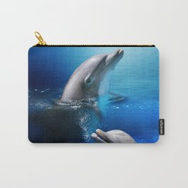 Dolphin Delight Carry-All Pouch