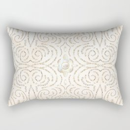 Beaded Pearls Rectangular Pillow