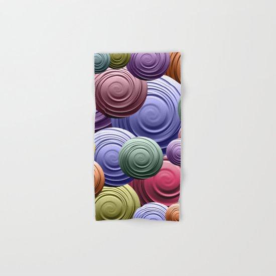 Swirl Pile Hand & Bath Towel
