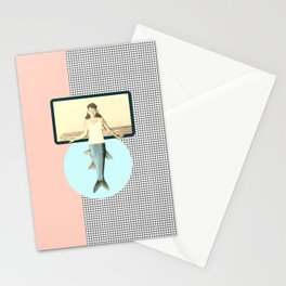 mermaid style Stationery Cards