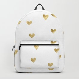 Gold Heart Backpack