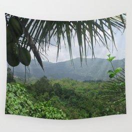 Puerto Rico Scenery Wall Tapestry