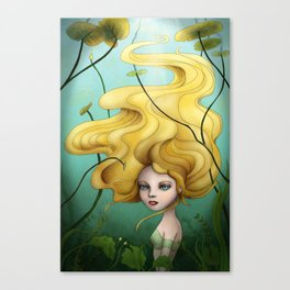 Under the water Canvas Print