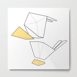 Little Simple Bird Metal Print