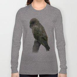 Kea Pattern Long Sleeve T-shirt