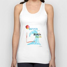 Summer at the Beach House Unisex Tank Top