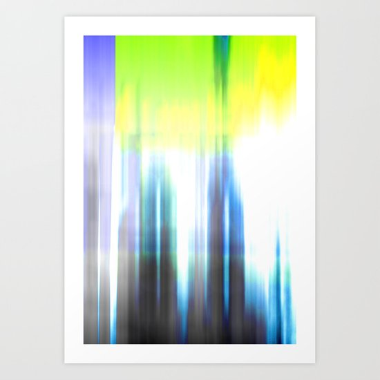 Technocolour Art Print