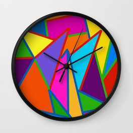 Pointy Things Wall Clock