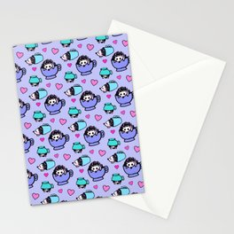 Hedgehog Hearts Stationery Cards