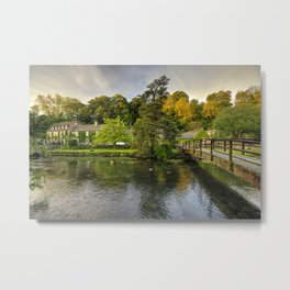 The River Coln at Bibury  Metal Print