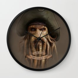 Yo Ho, yo Ho! #1 Wall Clock