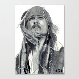 Jack Sparrow - Bring Me That Horizon Canvas Print
