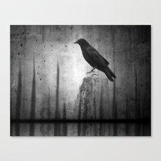 Gray Night Canvas Print
