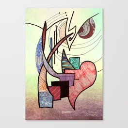 Moderately  Canvas Print