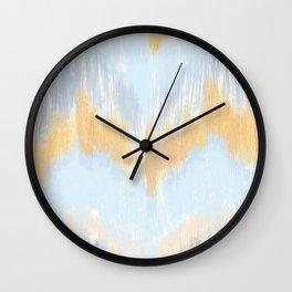 IKAT CHEVRON Wall Clock