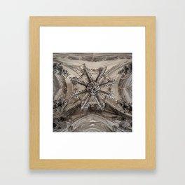 Sedlec Ossuary Ceiling Framed Art Print