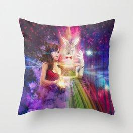 The Magic Show Throw Pillow