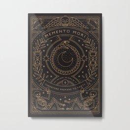 Memento Mori - Prepare to Party Metal Print