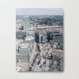 London from Above Metal Print