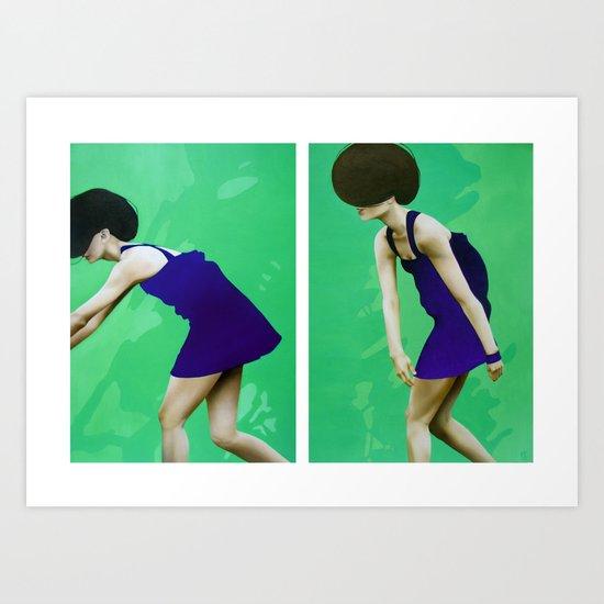 ALLA RICERCA DI ME STESSA - FUGA 1&2 Art Print