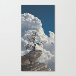 Sentinel (storm watching) - Skyscapes and horizons Canvas Print
