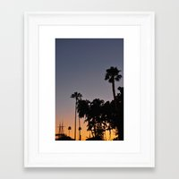 san diego Framed Art Prints featuring San Diego by Patrick Rodden