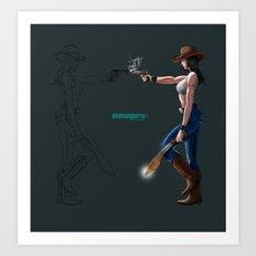 Machete! Art Print