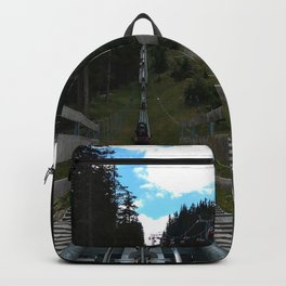 adventure park hög schneisenfeger coaster alps sfl tyrol austria europe Backpack
