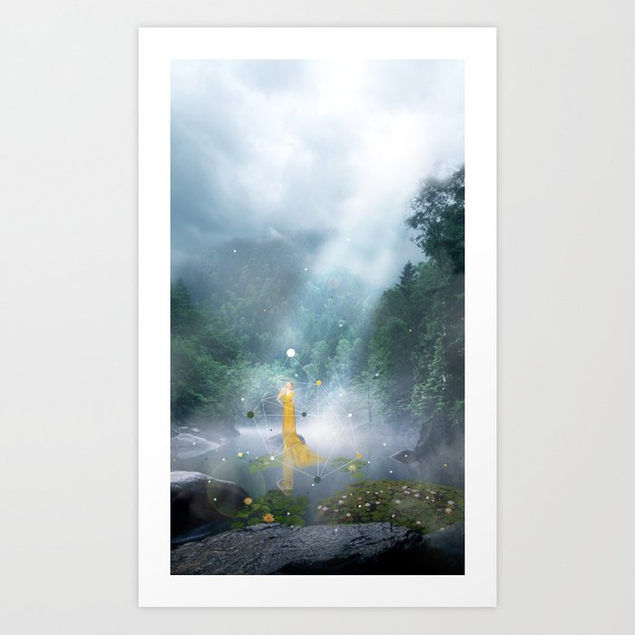 THE AWAKENING OF LILY Art Print