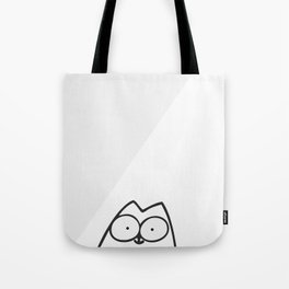 Cute Cat Face Tote Bag