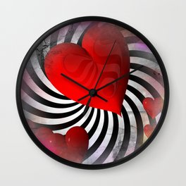 love is everywhere -1- Wall Clock