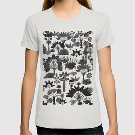 Exotic Garden - Grey T-shirt