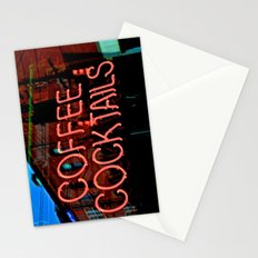 Coffee Cocktails Stationery Cards