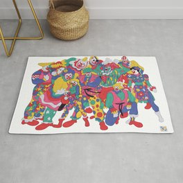 Street Fighter Clown Edition Rug