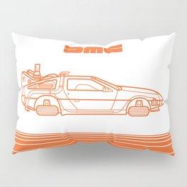 Back To The Future - Delorean - Stroke Pillow Sham