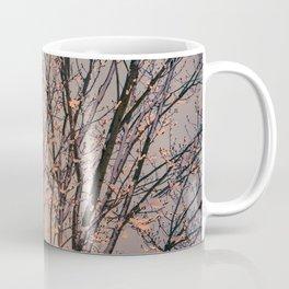 Winter Tree at Sunset Coffee Mug