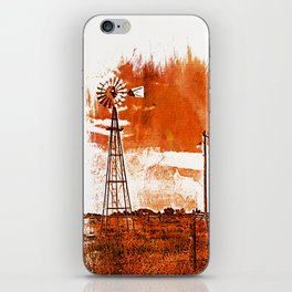 West Texas Windmill iPhone Skin