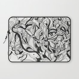 Squiggly Wiggly Lines Laptop Sleeve