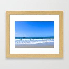 strand beach  Framed Art Print