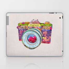 FLORAL CAN0N Laptop & iPad Skin
