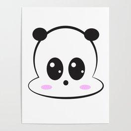 Panda Kawaii Poster