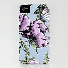 Summer Rose Garden iPhone (4, 4s) Slim Case