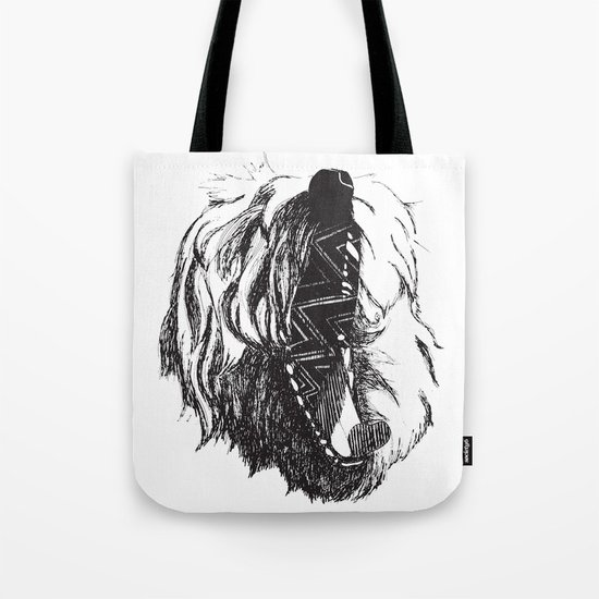 Yawning George Tote Bag