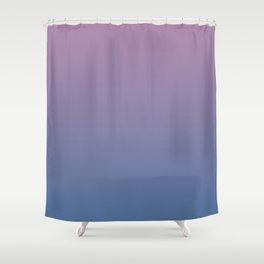 Gradient Dawn Pink Purple Blue Shower Curtain