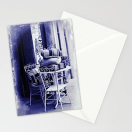 Table For Two Vintage Style Stationery Cards