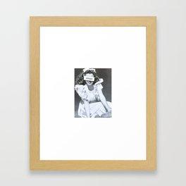 Sweet Norma Jeane Framed Art Print