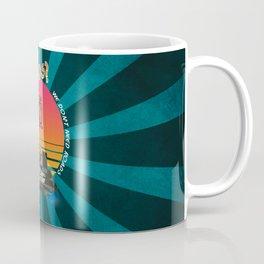 Delorean Roads. Coffee Mug