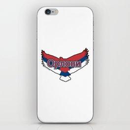 Serbia Орлови (The Eagles) ~Group E~ iPhone Skin