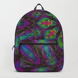 Psychedelic Mandala - Festival Decor Backpack